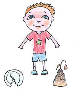 Как рисовать девочку для детей 10 лет